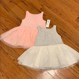 Old Navy Baby Girl Tulle Tank Dresses